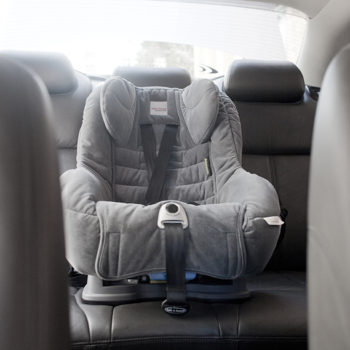 Holden Caprise - Child Seat